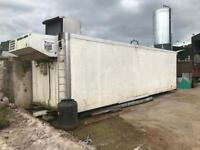 28 foot fridge container for sale.