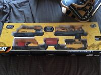 CAT construction express children's toy train set