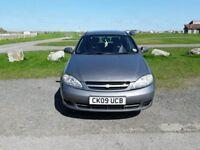 UNIQUE CAR COMPANY, 09 AUTOMATIC CHEVROLET LACETTI 1.6 SX 5DR 1 PREVIOUS OWNER