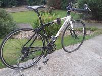 Mens carrera vanquish road bike/Spares repairs