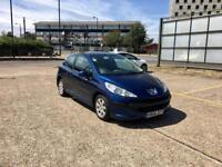 2006 Peugeot 207 1.4, Blue, 3 Doors, MOT, Cheap Car - £850