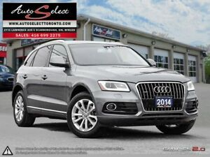 2014 Audi Q5 Quattro ONLY 108K! **PANORAMIC SUNROOF** CLEAN C...