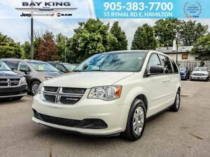 2012 Dodge Grand Caravan SE, STOW N'GO, 3.6L V6 ENGINE, A/C, 17""