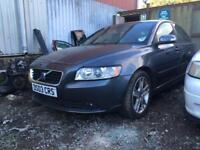 2008 Volvo S40 BREAKING spares for repair 2.4 Diesel D5244T