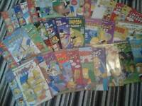 Simpsons comics collection