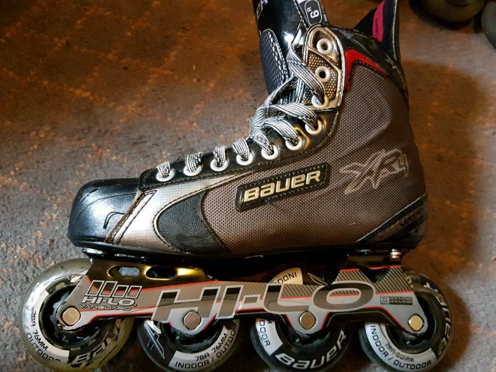 BAUER XR4 Roller Blades UK 6.5