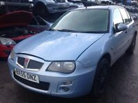 2005 Rover 25 1.4 Si blue 5dr JHI LHJ BREAKING FOR SPARES