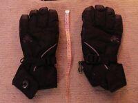 Black SKi Gloves - Brekka
