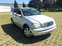 MERCEDES BENZ LPG 7 SEATER ML 500 MODIFIED AMG FULL LEATHER GAS 5.0 V8