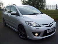 09 MAZDA 5 DIESEL SPORT 7 SEATER LEATHER XENONS ELECTRIC DOORS LIKE ZAFIRA SHARAN GALAXY S MAX