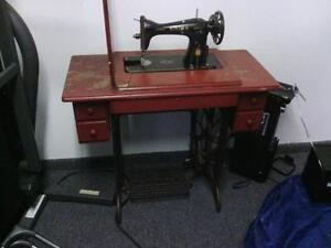 Antique Table sewing Machine