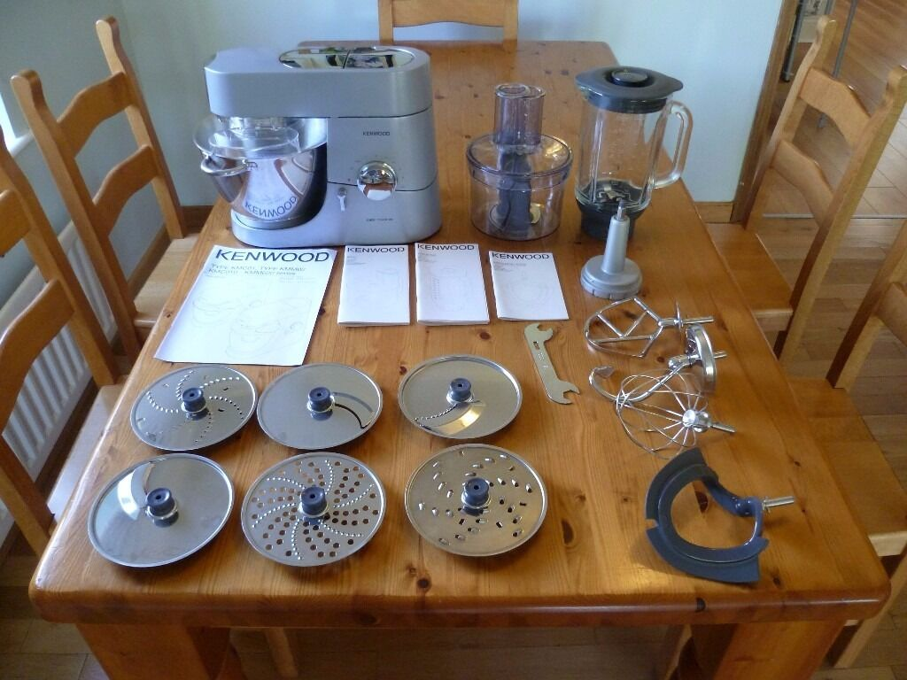 Kenwood chef food mixer kmc010 plus blender processor and for Kenwood cooking chef accessoire