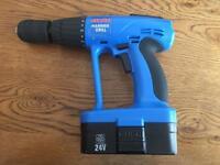 Hammer drill cordless Clarke CCD240 24v