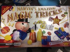 Marvins amazing magic tricks game