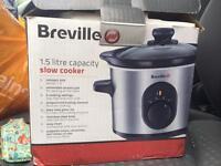 Slow cooker breville 1.5L