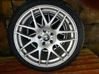 19 inch 5 x 120 staggered alloys CSL's