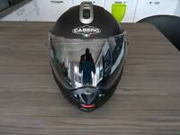 Caberg Konda flip up motorbike helmet medium