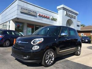 2015 Fiat 500L LOUNGE,LEATHER,BLUETOOTH,PANOROOF