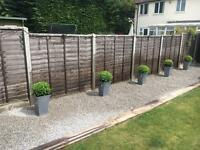 Fencing , landscaping and garden maintenance
