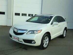 2015 Acura RDX Professionally repaired after Accident
