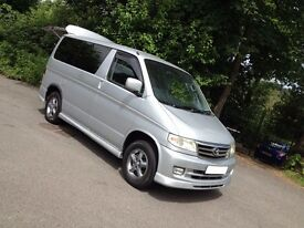 NEW SHAPE HI SPEC MAZDA BONGO DAY MPV SURF BUS/CAMPER/IDEAL SIZE & EASY TO DRIVE //