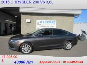 2015 CHRYSLER 200 C GPS TOIT PANORAMIQUE
