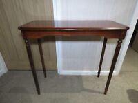Vintage mahogany side table