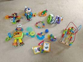 Baby toys - Lamaze, Baby Einstein, Nuby