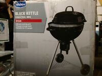 Wickes 64cm Kettle BBQ Barbecue - Brand New