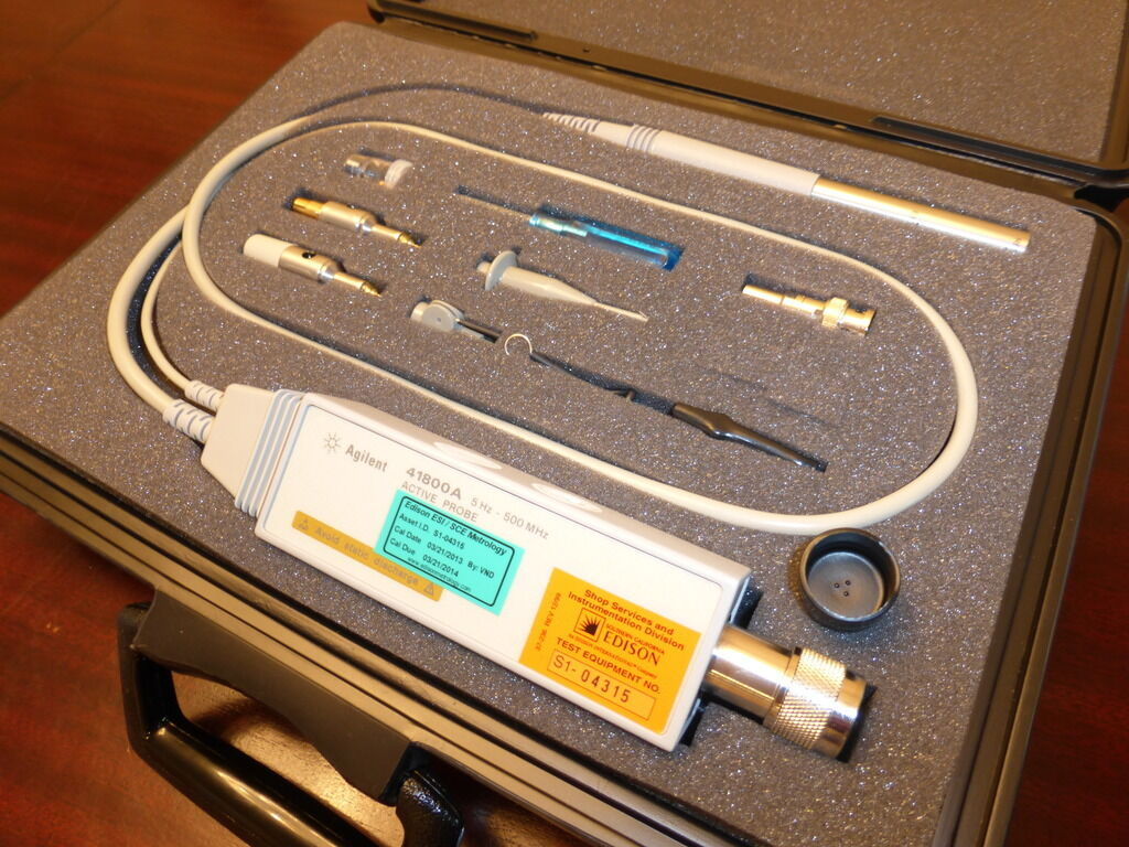Agilent / HP 41800A 5 Hz to 500 MHz Active Probe for Network ...