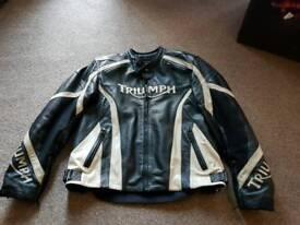 Triumph jacket.