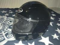 Suomy Trek Motorcycle Helmet M Black