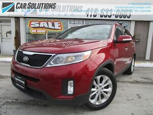 2014 Kia Sorento EX V6-AWD-LEATHR-SUNROOF