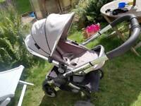 Icandy Peach stroller with extras