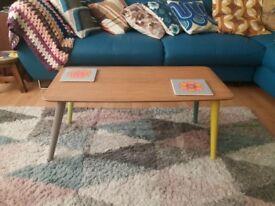 Vintage 1970s coffee table