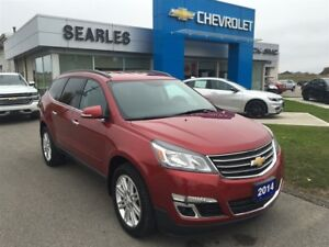 2014 Chevrolet Traverse 1LT True North Edition.