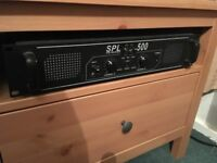Stage / Venue Amplifier SPL 500 EQ Series Rack Mountable