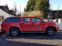 2016 Isuzu Fury - Red
