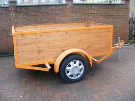 Trailer. (can be used as Box - Bike or Flatbed)