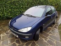 Peugeot 206, 5 door hatch, Y reg (2001) - £500 ONO.
