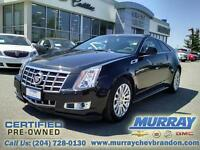 2012 Cadillac CTS Coupe 2dr Cpe Performance AWD *Blind Side Aler