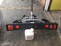 Thule 2cycle tow bar carrier only used twice