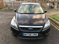2008 Ford Focus 1.8 TDCi Zetec 5dr Manual @07445775115