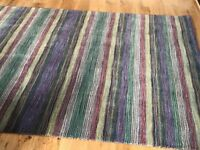 Lovely stripped wool rug