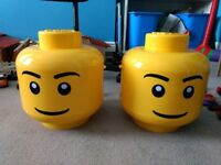 Lego storage head large - 2 available