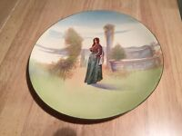 Royal Doulton plate of Shakespeare's Juliet