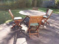 Blooma Aland Wooden Garden Furniture Set for Sale