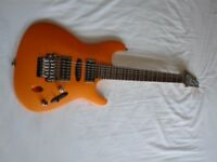 Ibanez S470DX Saber series electric guitar - Korea - '03 - Flat Orange Flare