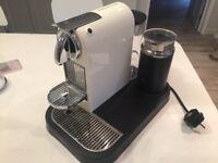 Nespresso magimix coffee machine