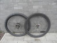 MTB bicycle wheelset (disc brakes)